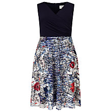 Buy Studio 8 Cecelia Dress, Navy Online at johnlewis.com