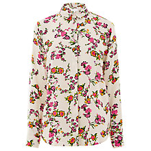 Buy Warehouse Spaced Sidney Floral Shirt Online at johnlewis.com
