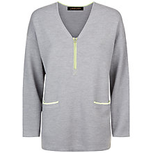 Buy Jaeger Zip Detail Jumper Online at johnlewis.com