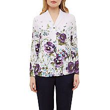 Buy Ted Baker Elizay Entangled Enchantment Blouse, Baby Pink Online at johnlewis.com