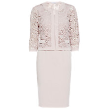 Buy Gina Bacconi Crepe Dress And Guipure Jacket Online at johnlewis.com