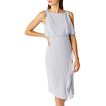 Buy Coast Carolina Shift Dress, Silver Online at johnlewis.com
