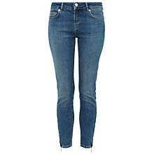 Buy Ted Baker Lallita Mid Wash Skinny Jeans, Teal Online at johnlewis.com