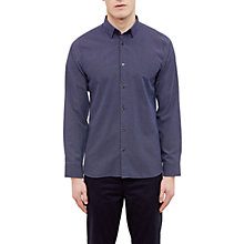 Buy Ted Baker Werlwin Geo Print Modern Fit Shirt, Navy Online at johnlewis.com