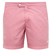 Buy Ted Baker Bilko Striped Slim Fit Swim Shorts Online at johnlewis.com