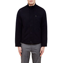 Buy Ted Baker Coast Funnel Neck Jacket, Navy Online at johnlewis.com