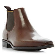 Buy Dune Martime Leather Chelsea Boots, Tan Online at johnlewis.com