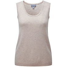 Buy Pure Collection Cashmere Tank Top, Marble Online at johnlewis.com