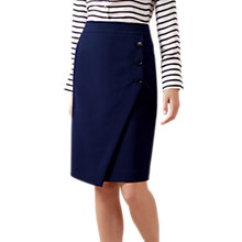 Buy Hobbs Pippa Skirt, French Blue Online at johnlewis.com