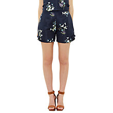 Buy Ted Baker Entangled Enchantment Anthia Shorts, Dark Blue Online at johnlewis.com