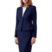 Buy Hobbs Pippa Jacket, French Blue Online at johnlewis.com