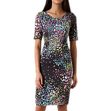 Buy Hobbs Lauren Dress, Navy/Multi Online at johnlewis.com
