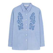 Buy Gerard Darel Clark Blouse, Light Indigo Online at johnlewis.com