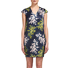 Buy Whistles Willow Juniper Print Dress, Multi Online at johnlewis.com