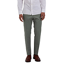 Buy Jaeger Formal Slim Fit Chinos, Green Online at johnlewis.com