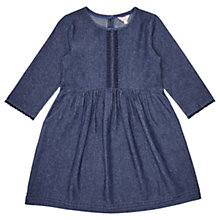 Buy Jigsaw Girls' Day Dress, Chambray Online at johnlewis.com