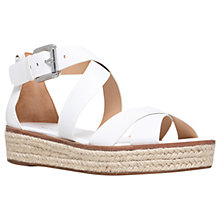 Buy MICHAEL Michael Kors Darby Flatform Sandals Online at johnlewis.com