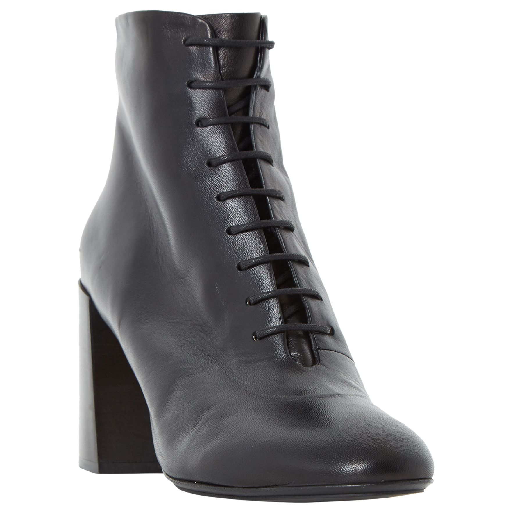 Dune Black Dune Ochre Lace Up Ankle Boots