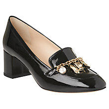Buy L.K. Bennett Maribel Embellished Court Shoes, Black Online at johnlewis.com