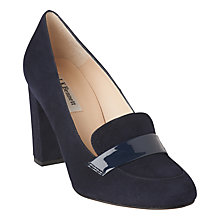 Buy L.K. Bennett Madeleine Block Heeled Court Shoes Online at johnlewis.com