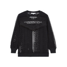 Buy Gerard Darel Dusk Jumper, Black Online at johnlewis.com