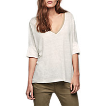 Buy Gerard Darel Tischa Linen T-Shirt Online at johnlewis.com