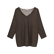 Buy Gerard Darel Alacia Jumper, Brown Online at johnlewis.com
