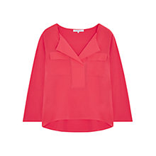 Buy Gerard Darel Tory Blouse, Pink Online at johnlewis.com