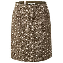 Buy White Stuff Poppy Seed Skirt, Hawthorn Green Online at johnlewis.com