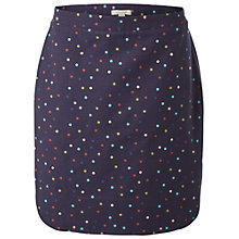 Buy White Stuff Magical Garden Spot Embroidered Skirt, Wallpaper Blue Online at johnlewis.com