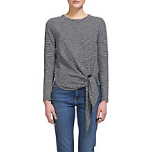 Buy Whistles Stripe Side Tie Top, Multi Online at johnlewis.com