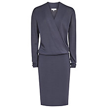 Buy Reiss Lisbeth Wrap Dress, Shadow Online at johnlewis.com