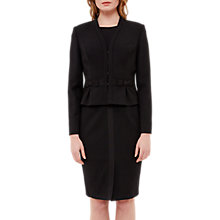 Buy Ted Baker Zeeva Bow Detail Cropped Suit Jacket, Black Online at johnlewis.com