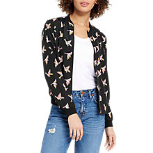 Buy Oasis Suzie Print Bomber Jacket, Multi Online at johnlewis.com