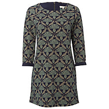 Buy White Stuff Carlina Jersey Tunic Dress, Charcoal Online at johnlewis.com
