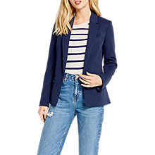 Buy Oasis Ponte Ottoman Blazer Online at johnlewis.com