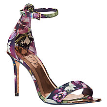 Buy Ted Baker Charv Entangled Enchantment Stiletto Sandals, Multi Online at johnlewis.com