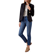 Buy Hobbs Kenwood Blazer, Navy Online at johnlewis.com