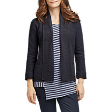Buy East Boiled Wool Cardigan, Charcoal Online at johnlewis.com