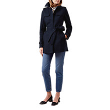 Buy Hobbs Selma Mac, Navy Online at johnlewis.com