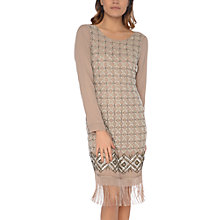Buy True Decadence Heavily Beaded Dress, Dusty Lilac Online at johnlewis.com