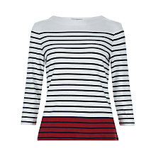 Buy Hobbs Maureen Breton T-Shirt Online at johnlewis.com