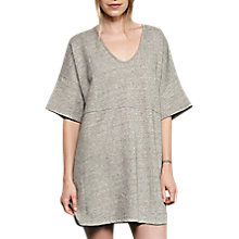 Buy French Connection Alexis Jersey Tunic Dress, Grey Mel Online at johnlewis.com