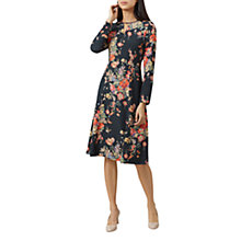 Buy Hobbs Cecilia Floral Dress, Multi Online at johnlewis.com