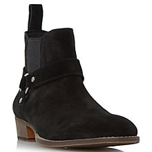 Buy Dune Cowboy Suede Boots Online at johnlewis.com