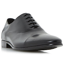 Buy Dune Rubicon Oxford Shoes, Black Online at johnlewis.com