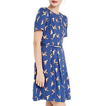 Buy Oasis Country Bird Skater Dress, Multi Online at johnlewis.com