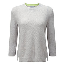 Buy Pure Collection Gassato Cashmere Ribbed Jumper Online at johnlewis.com