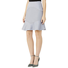 Buy Reiss Ella Textured A-Line Skirt, Chromatic Blue Online at johnlewis.com