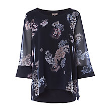 Buy Phase Eight Shila Floral Print Blouse, Multi Online at johnlewis.com